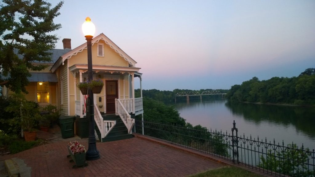 The Bridge Tenders House near the Edmund Pettus Bridge in Selma, Alabama